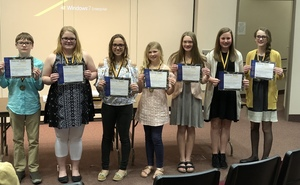 Four Pender Students Qualify for State Science Fair