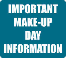 Make Up Day Information