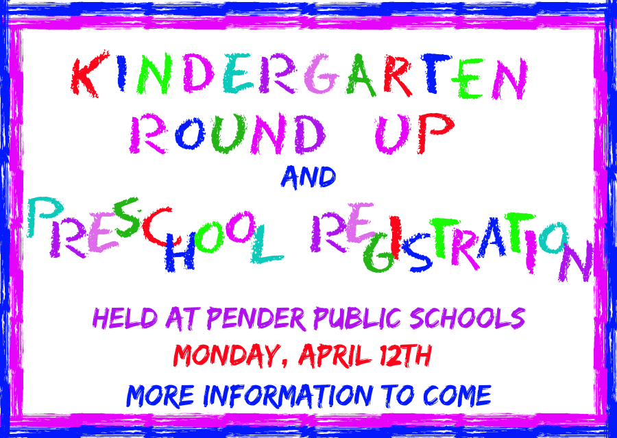 Kindergarten/Preschool Round Up