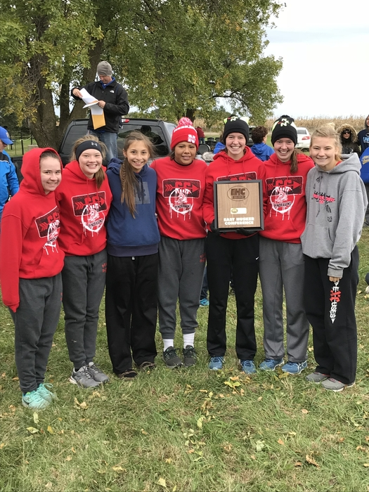 EHC Girls Cross-Country Champions