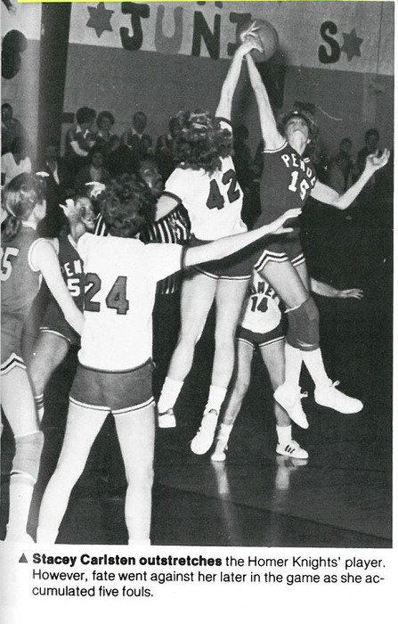 Girls Basketball 1982