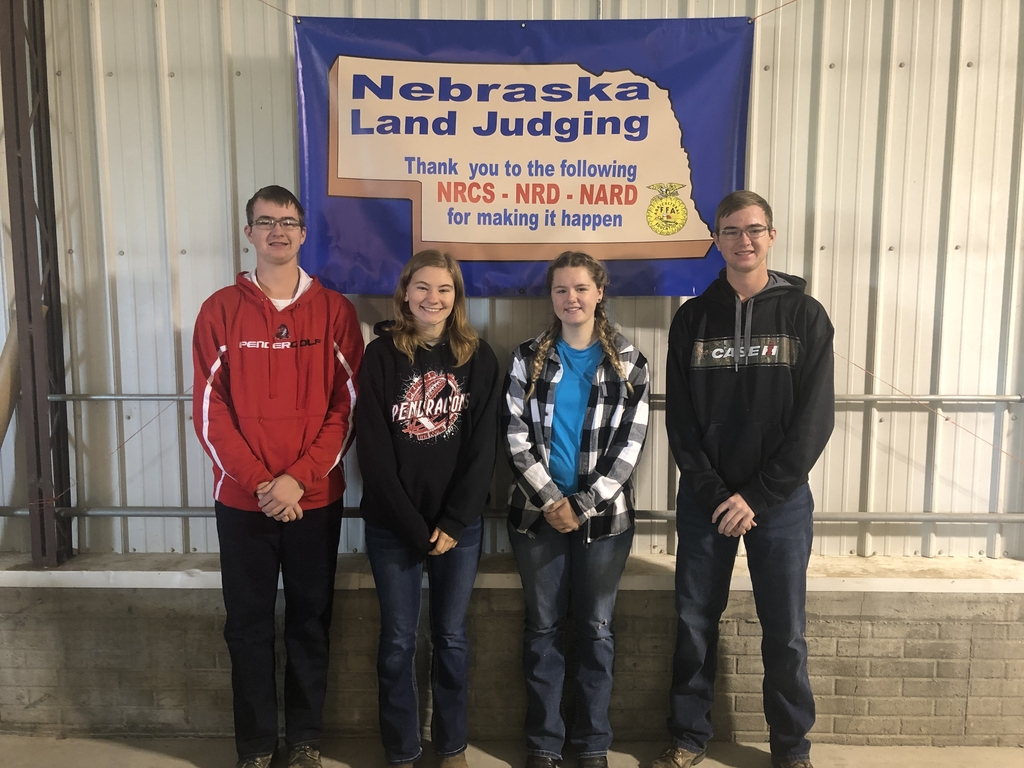 Jonathon, Jessica, Liberty, and Charles competed at state land judging near Tecumseh, Nebraska.