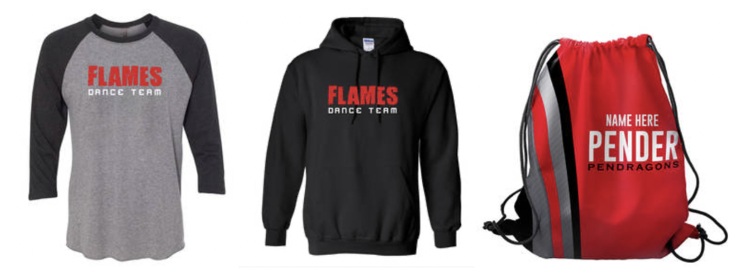 Flames clothing